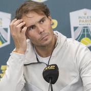 Rafael Nadal s'énerve contre un journaliste après une question sur son mariage