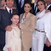Le baiser de David et Victoria, la fierté d'Eva Longoria, le déhanché de Marc Anthony : le baptême d'Harper et Cruz Beckham