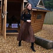Kate Middleton ose la jupe léopard Zara à un prix imbattable