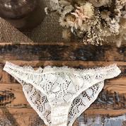 Laure de Sagazan crée sa première collection de lingerie à partir des chutes de dentelle