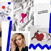 Du rose pour Ami, des cœurs chez Marc Jacobs, un drôle d'amour pour Printemps et Vogue Turfu... L'impératif Madame