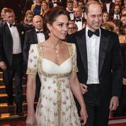 Kate Middleton subjugue les Bafta 2020 dans une robe Alexander McQueen déjà portée en 2012
