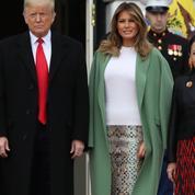 La jupe python de Melania Trump qui fait s'étouffer les internautes