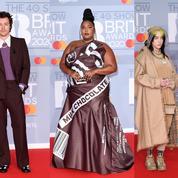 La mode excentrique s'empare du tapis rouge des Brit Awards 2020