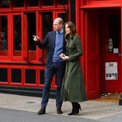Tournée des pubs et foot gaélique : les photos du prince William et de Kate Middleton en Irlande