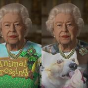 La robe verte d'Elizabeth II fait l'objet de drôles de détournements sur le web