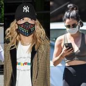 Comment se coiffer quand on porte un masque ? La réponse des célébrités