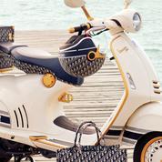 Dior imagine un scooter de luxe avec Vespa