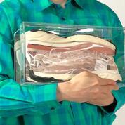 Acne Studios imagine une basket transparente en édition très limitée