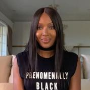 Naomi Campbell inaugure la Fashion Week haute couture avec un message militant