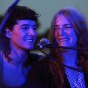 Patti Smith et sa fille Jesse Paris :