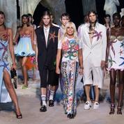 Défilé Versace Printemps-été 2021 Prêt-à-porter