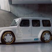Repensé par Virgil Abloh, le tout-terrain de Mercedes-Benz devient œuvre d'art