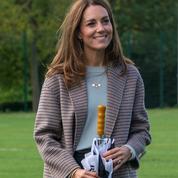 Wanted cet automne : le nouveau manteau à carreaux de Kate Middleton