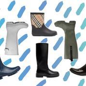 Burberry, Ganni, Mango... Les bottes qui aident à garder le moral sous la pluie