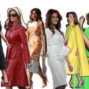 Les plus beaux moments mode de Melania Trump à la Maison-Blanche