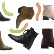 En cuir, à lacets… Notre sélection de bottines à moins de 100 euros à shopper en ligne