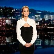 Jennifer Lawrence en pyjama dans la rue, Lady Gaga en pleurs... Hollywood laisse exploser sa joie