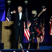 Dans son premier discours de président-élu, Joe Biden rend hommage à sa femme Jill :