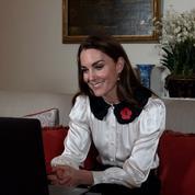 L'échange de Kate Middleton avec Charlton, 11 ans, dont le père militaire a été tué en Afghanistan