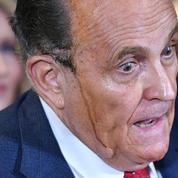 Rudy Giuliani et sa teinture qui dégouline : l'effet Visconti a encore frappé