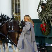 Melania Trump s'apprête à célébrer son dernier Noël (cauchemardesque ?) à la Maison-Blanche