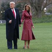 Melania Trump dévoile le nouveau terrain de tennis de la Maison-Blanche... au pire des moments