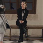 Au château de Chenonceau, Kristen Stewart est l'unique invitée du défilé Chanel