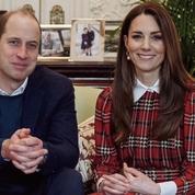 Kate Middleton recycle une robe de Noël tartan portée en 2019