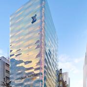 Un rêve bleu : Louis Vuitton dévoile sa boutique-océan au cœur de Tokyo