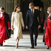 Kate Middleton et le prince William foulent le sol de l'abbaye de Westminster, dix ans après leur mariage