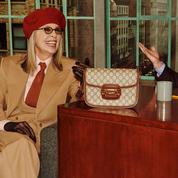 Diane Keaton chante Billie Holliday dans la nouvelle campagne Gucci (et ça donne des frissons)