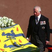 En photos, l'intense émotion de la famille royale aux funérailles du prince Philip