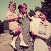 Le prince Philip avec ses enfants : un père très autoritaire mais très admiré