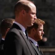 Pourquoi Harry et William n'ont pas marché côte à côte aux funérailles du prince Philip