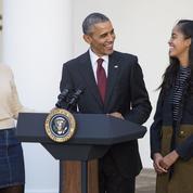 Barack Obama raconte le stress de ses filles que les services secrets suivaient