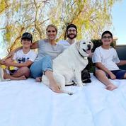 Céline Dion, ses 3 fils, ses 3 chiens : la photo à retenir de la Fête des mères américaine