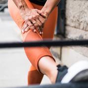 Genoux qui craquent pendant le sport: quand faut-il s'inquiéter ?