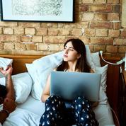 Un tiers des cadres disent penser au travail pendant l'amour