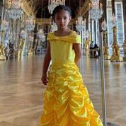 L'adorable cliché d'Olympia, la fille de Serena Williams, princesse Belle au château de Versailles