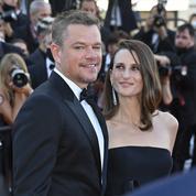 Camille Cottin au bras de Matt Damon, le duo qu'on n'attendait pas sur les marches de Cannes