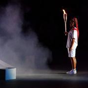 Naomi Osaka et ses tresses rouges enflamment la cérémonie d'ouverture des JO de Tokyo