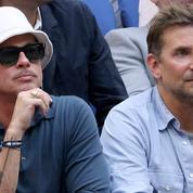 Brad Pitt et Bradley Cooper, les copains d'abord dans les gradins de l'US Open 2021