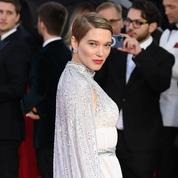 Coupe courte et bouche glamour : Léa Seydoux, une James Bond girl à Londres