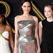 Angelina Jolie et ses filles Shiloh et Zahara, main dans la main pour fouler le tapis rouge romain
