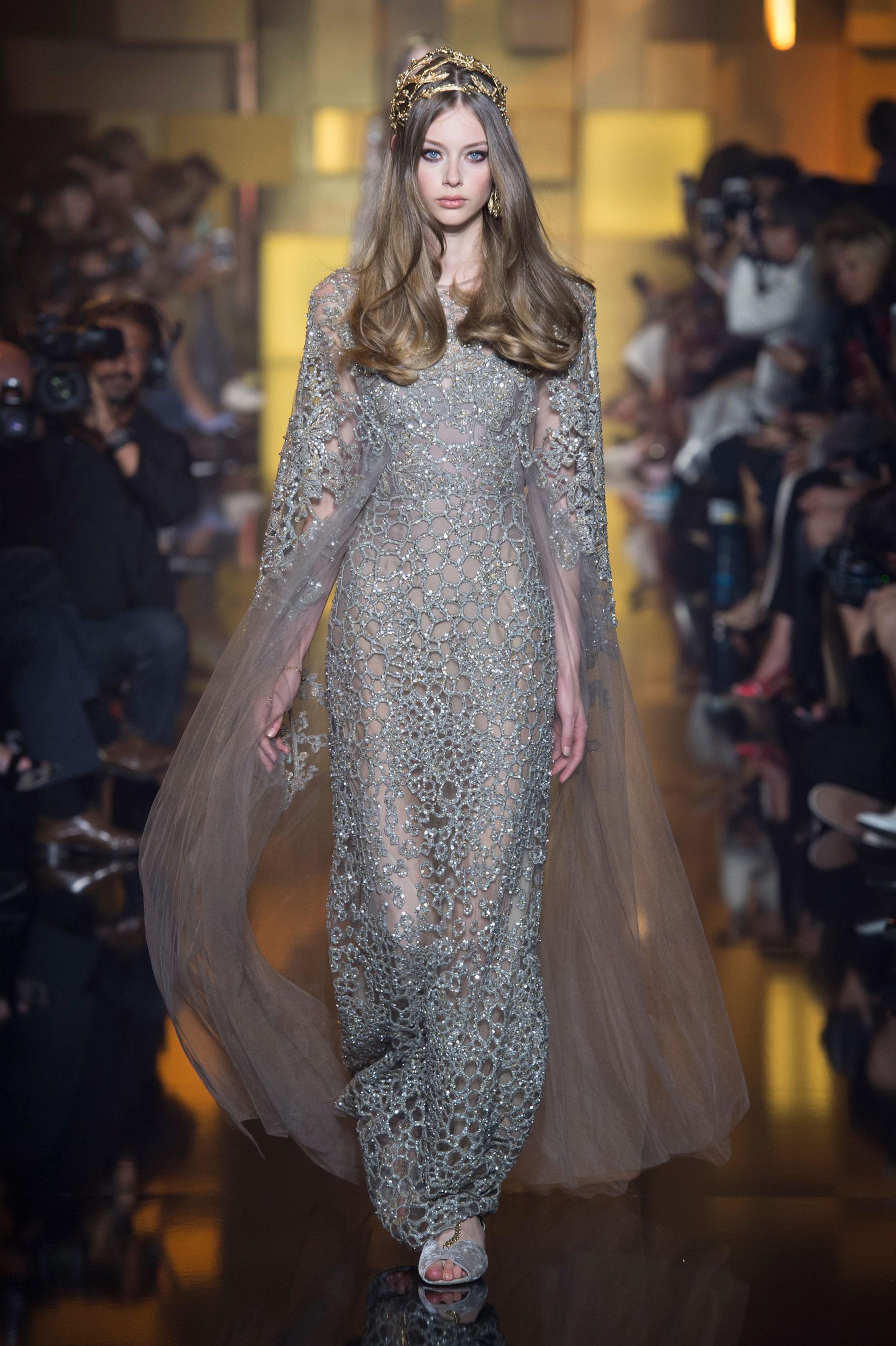 66bd358fef8 Défilé Elie Saab Automne-hiver 2015-2016 Couture - Madame Figaro