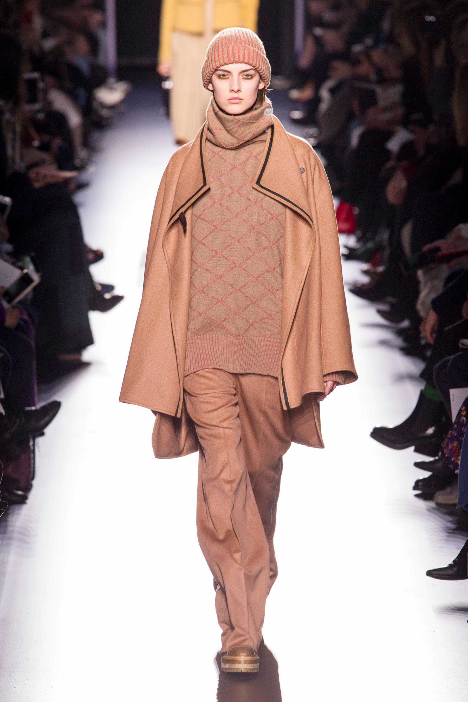 73acd9a8710 Défilé Hermès Automne-hiver 2017-2018 Prêt-à-porter - Madame Figaro