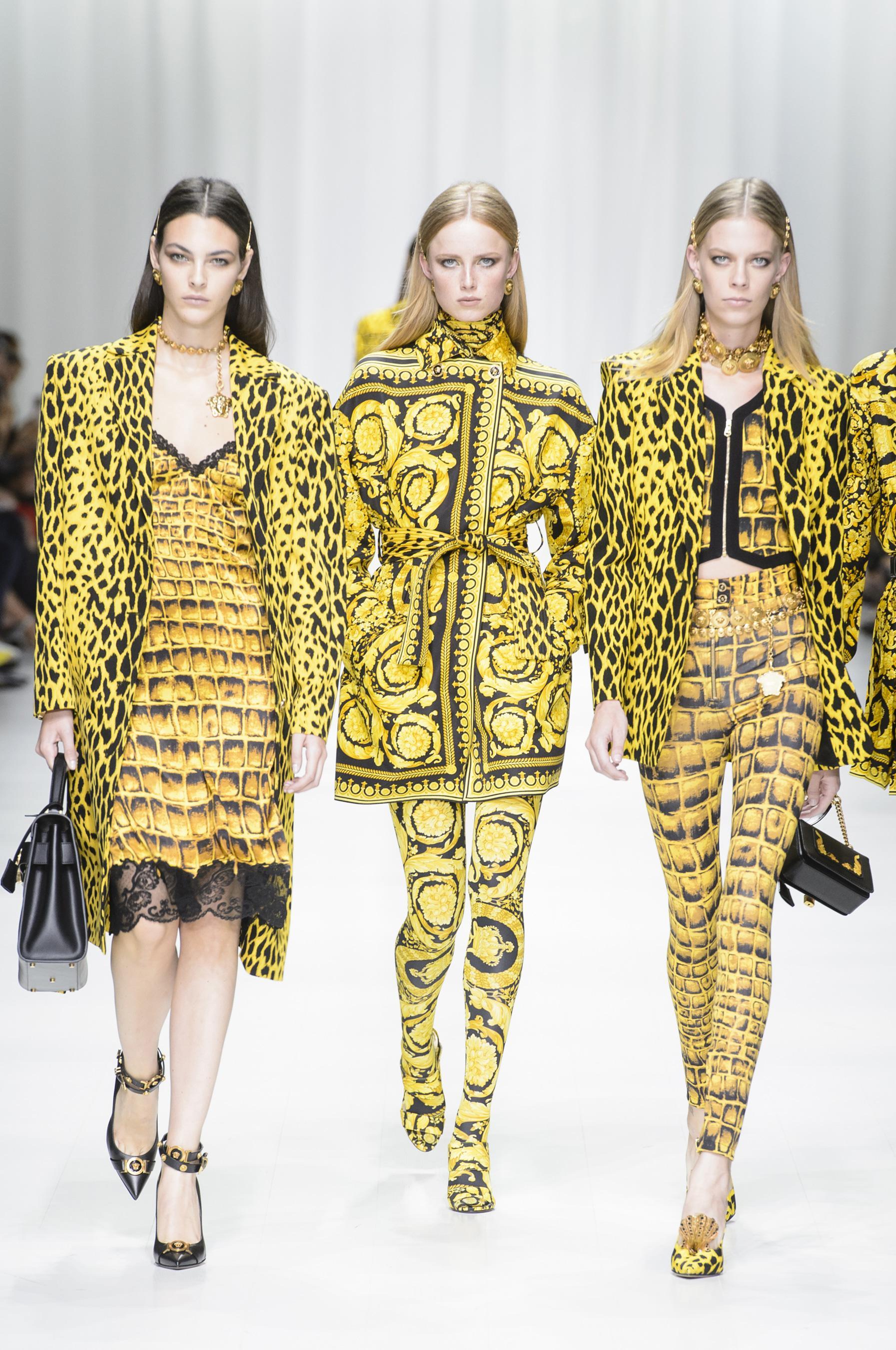 Défilé Versace printemps été 2018 Prêt à porter Madame Figaro