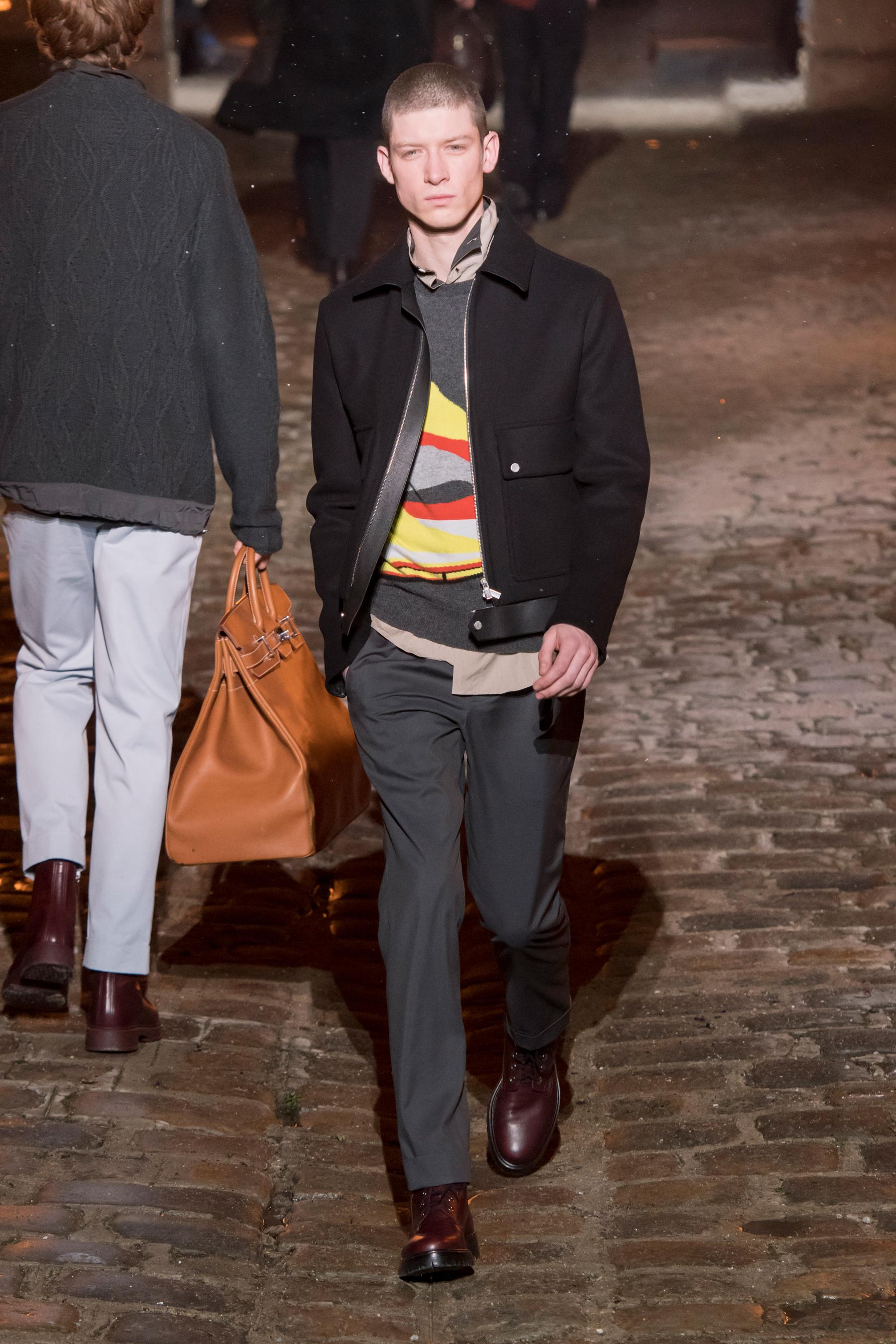 7cf5aee6171 Défilé Hermès automne-hiver 2018-2019 Homme - Madame Figaro