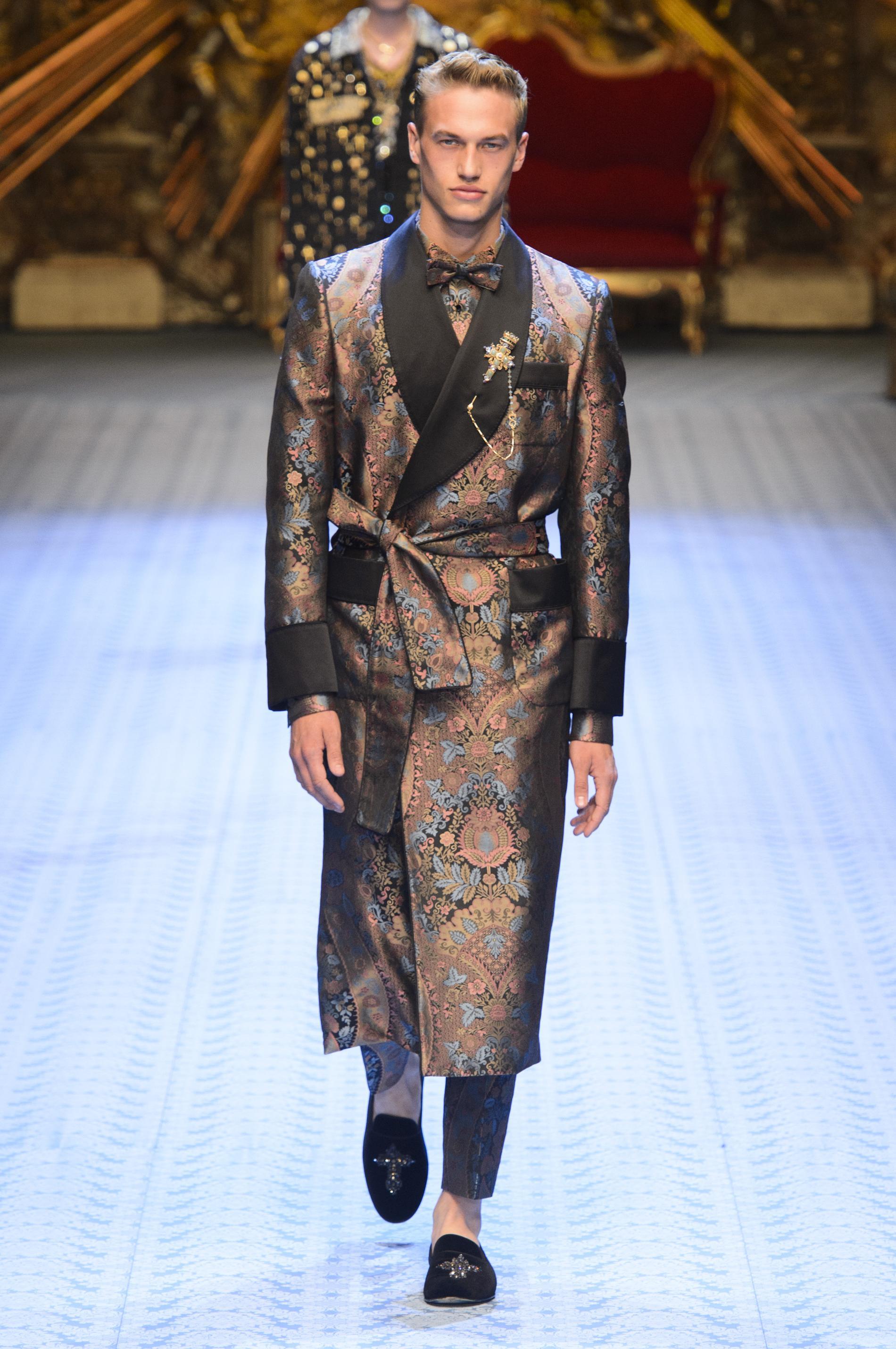 12903273d2 Défilé Dolce & Gabbana printemps-été 2019 Homme - Madame Figaro